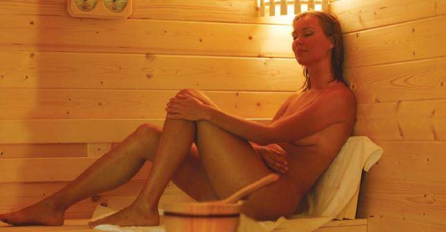 sauna tonneau en thermowood 250cm